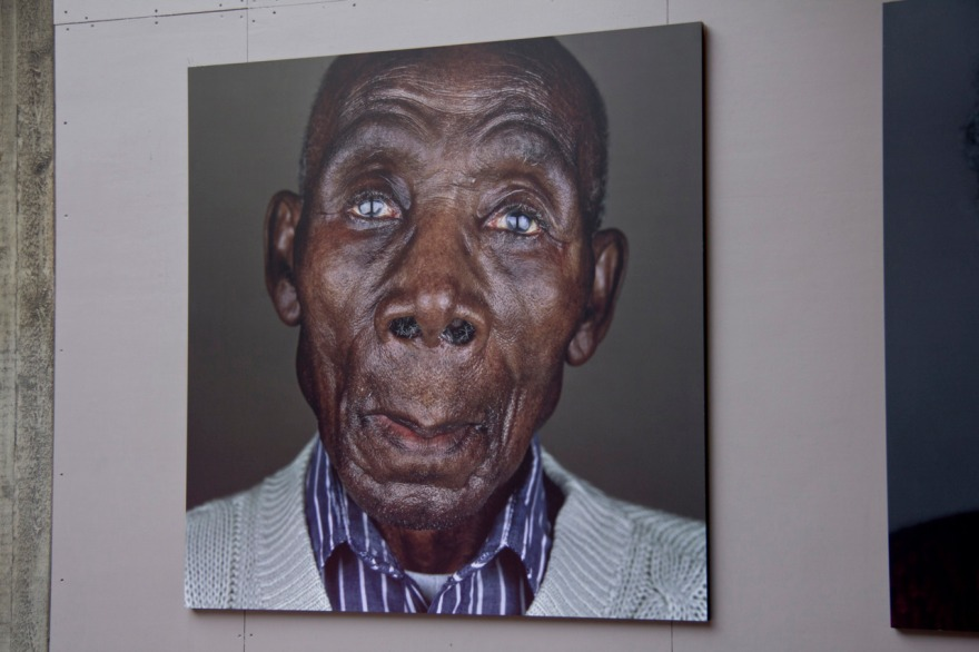 A Portrait at the Royal National Theatres Back Entrance (2009)