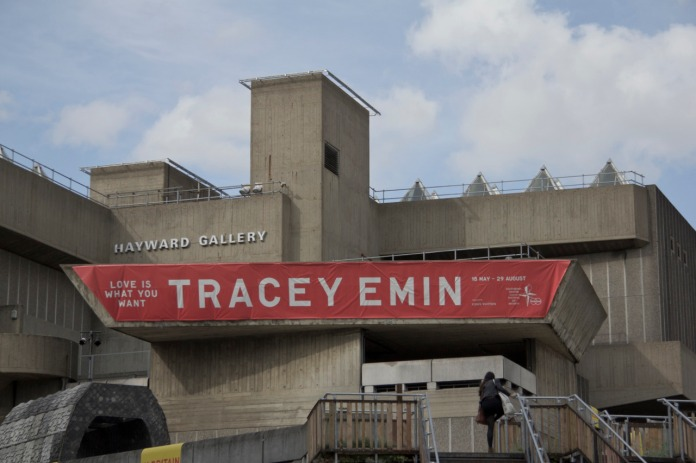 """Tracy Emin's """"Love is what you want"""" Exhibition at The Hayward Gallery"""