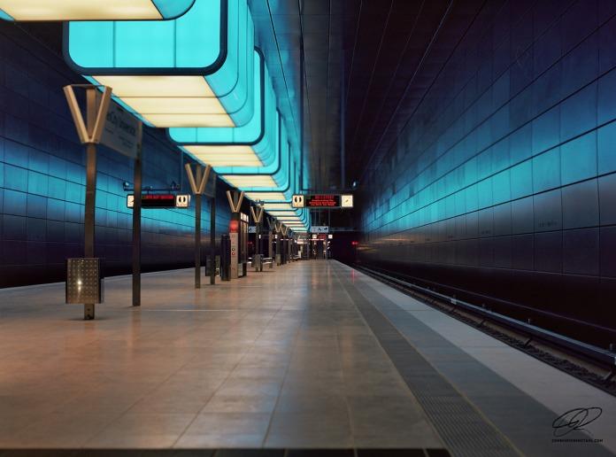 U-Bahn HafenCity Universität – Part I – Visuelles Logbuch by Dennis Riebenstahl