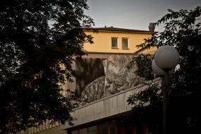 Brooklyn Pizza Wall Graffiti I – Hamburg Altona