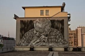 Brooklyn Pizza Wall Graffiti II – Hamburg Altona