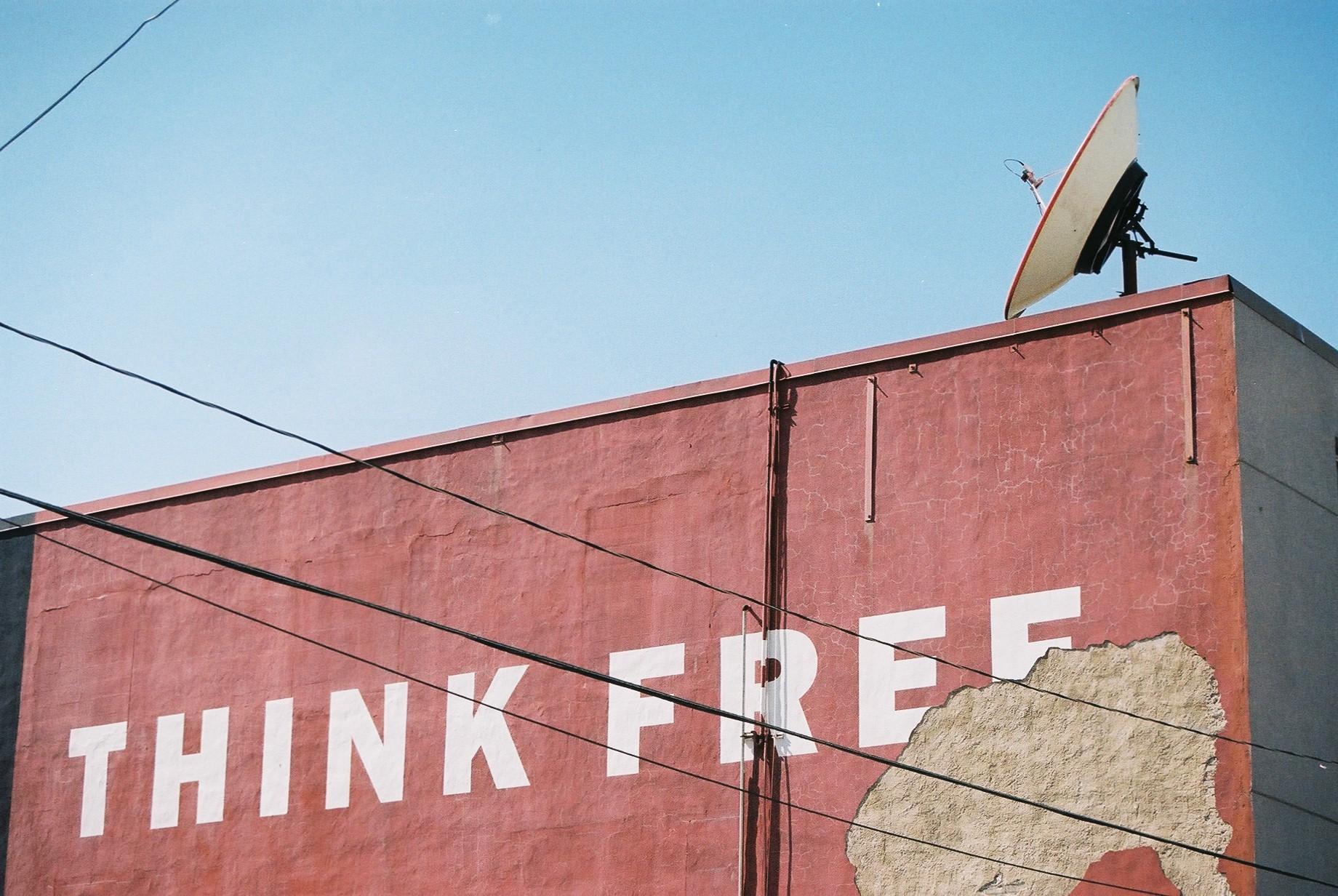 Think Free - (c) 2012 - Toronto Street Photography by Dennis Riebenstahl
