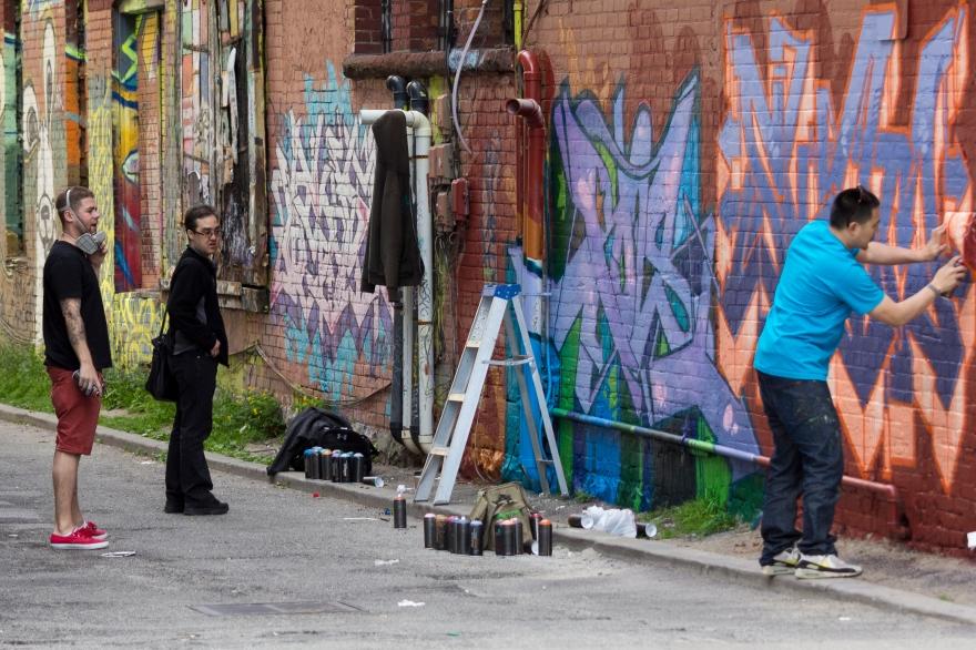 Making Street Art - Toronto