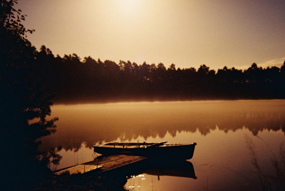 Boat In Moonlight - Fedingshult