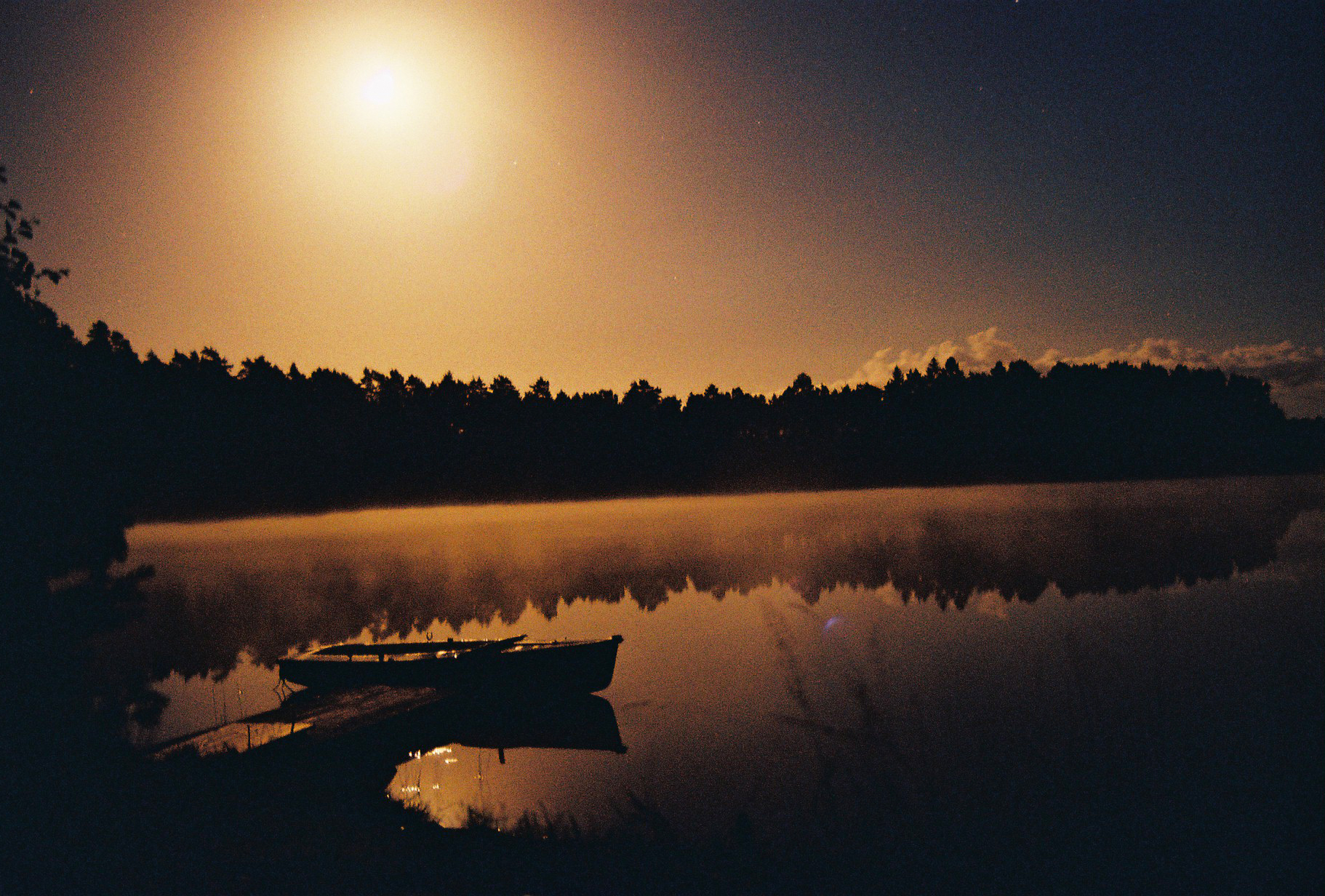Boat In Moonlight - Part II