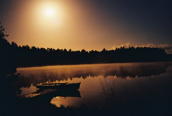 Boat In Moonlight - Part II