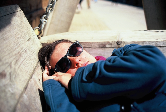 Sleeping in the Sun - The Hague