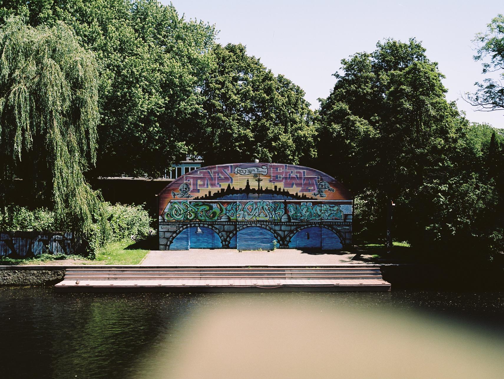 Bootshaus an der Alster