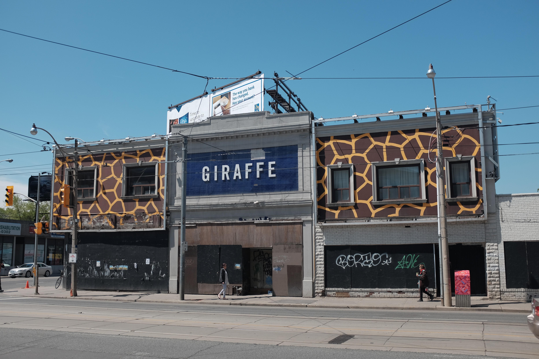 Giraffe building in Toronto (2016)