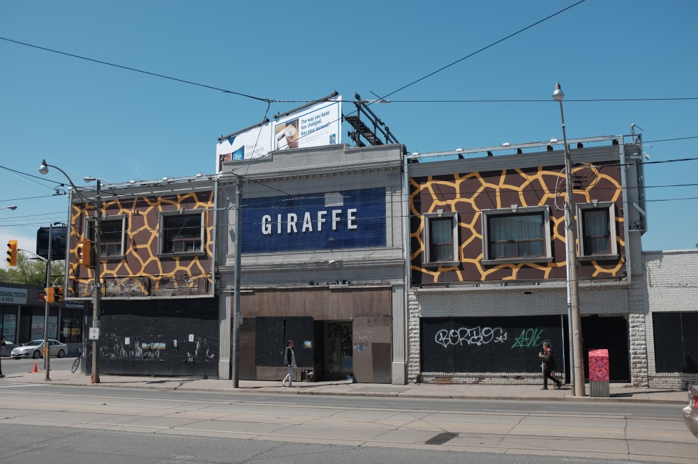 Giraffe building in Toronto (2016)