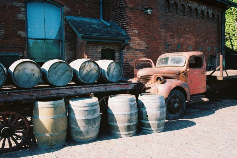 Distillery District - Toronto, Canada - by Dennis Riebenstahl