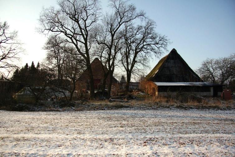 Winter at Farm #1 - by Dennis Riebenstahl