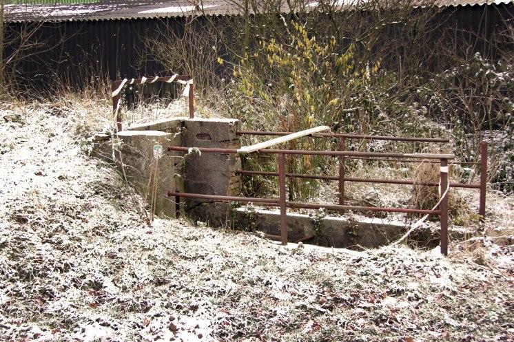 Winter at Farm #2 - by Dennis Riebenstahl