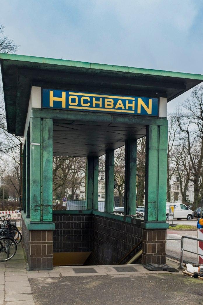 """Subway Entrance """"Klosterstern"""" - Hamburg - Street Photography by Dennis Riebenstahl"""