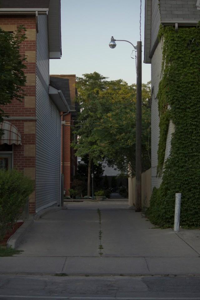 Alley In Toronto - by Dennis Riebenstahl