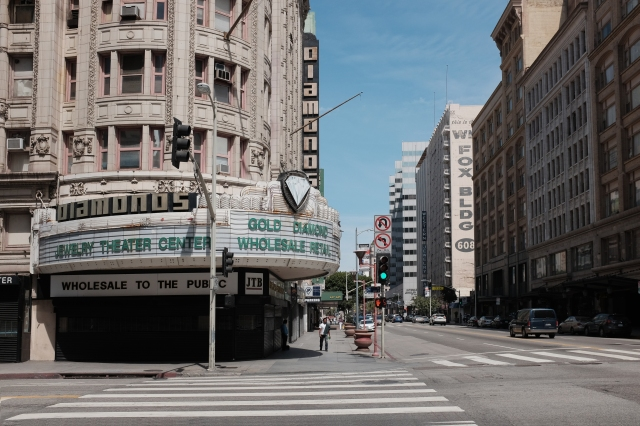 Diamonds Theater in Downtown L.A. – Visuelles Logbuch