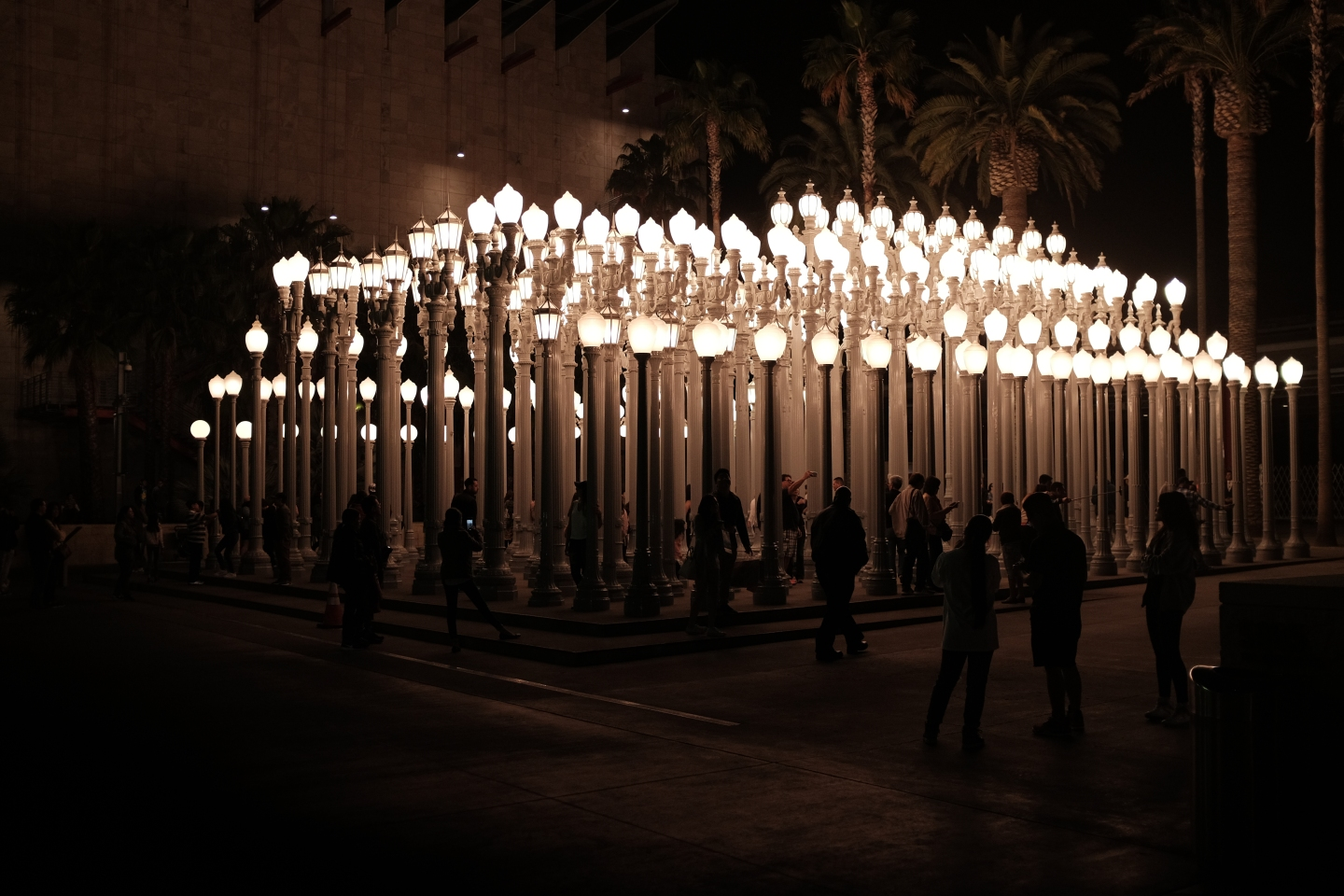 Art Installation in Los Angeles, California – Visuelles Logbuch