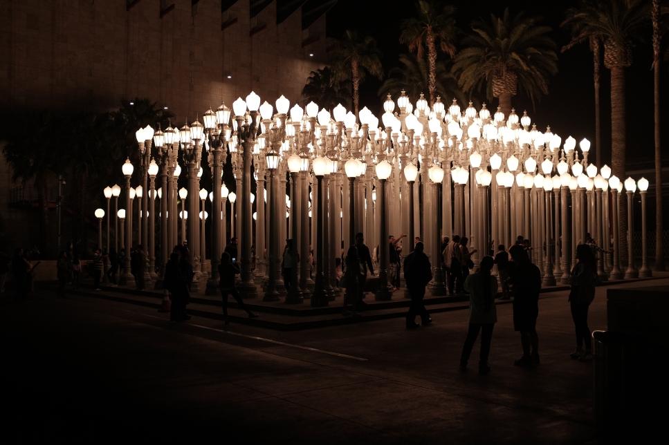 Art Installation in Los Angeles, California – Visuelles Logbuch