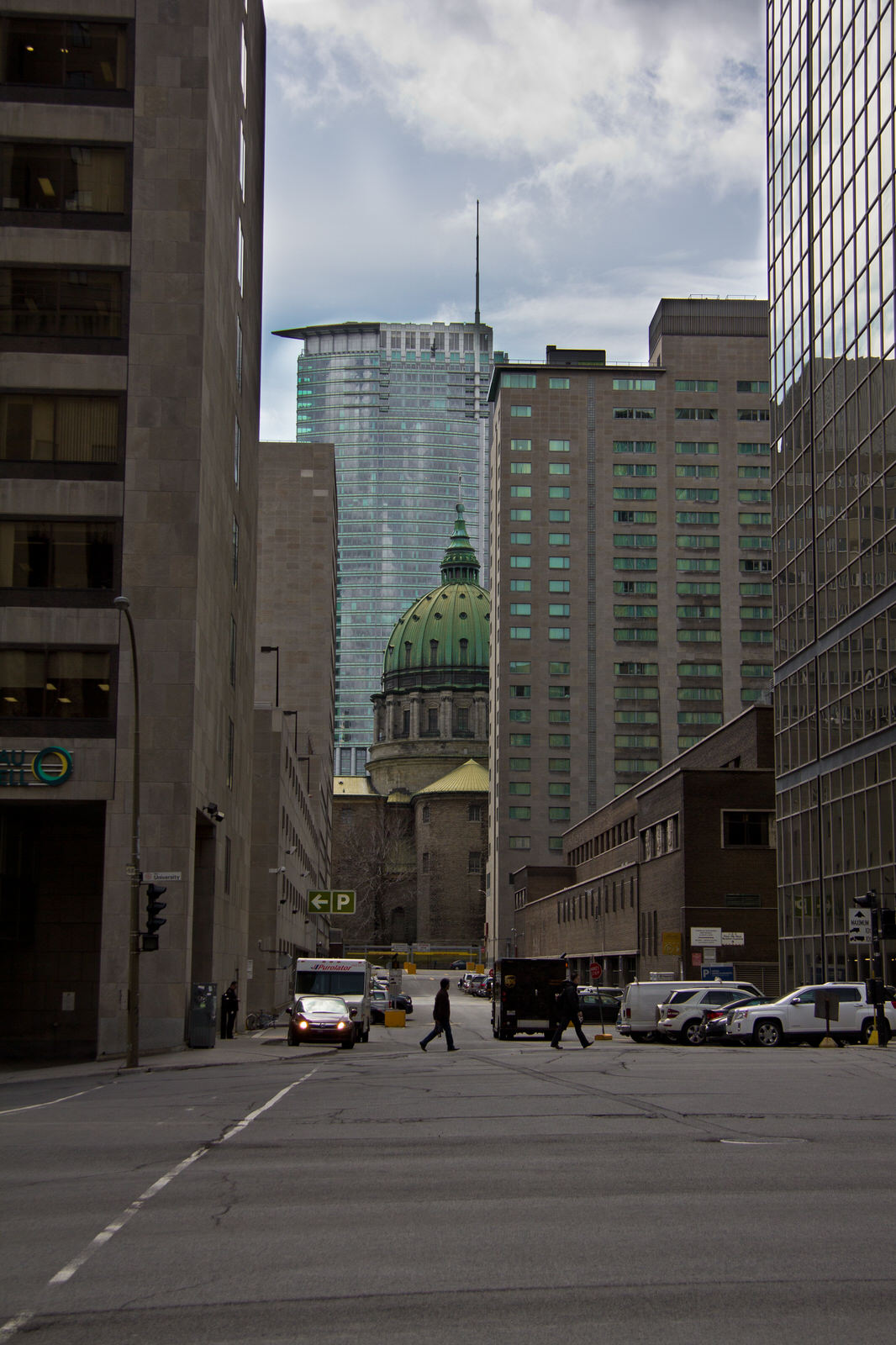 Montréal Streets - Old and new - Visuelles Logbuch