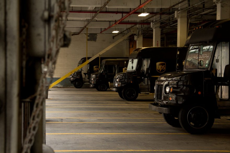 UPS Delivery Truck Depot in New York City – Visuelles Logbuch
