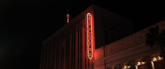 El Capitan – Disney Theatre in Hollywood California