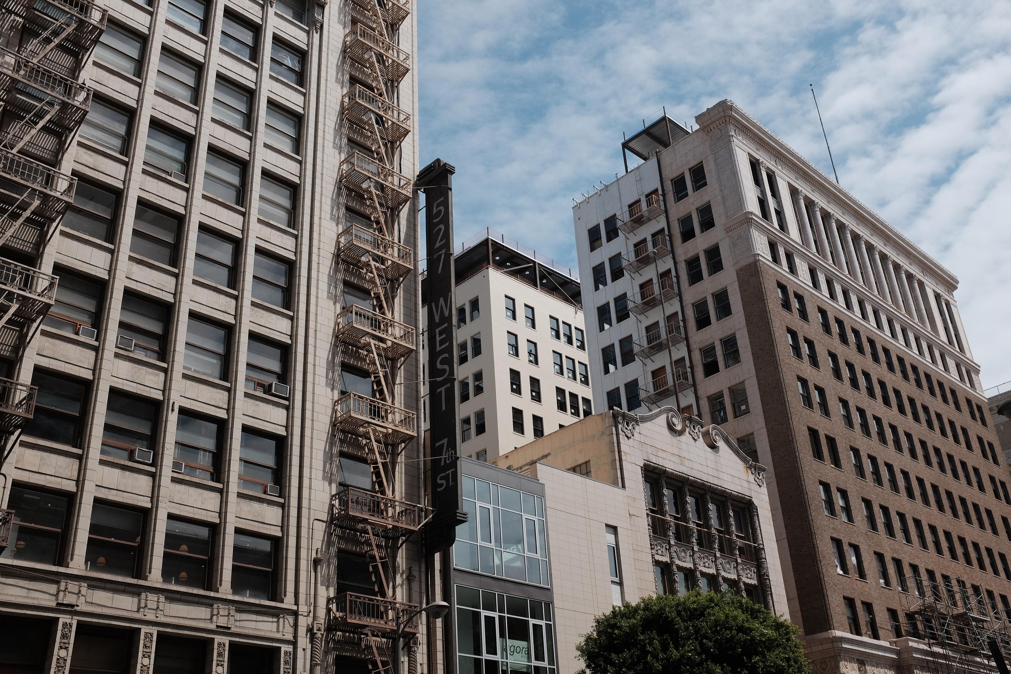 527 West 7th Street in Los Angeles, California.