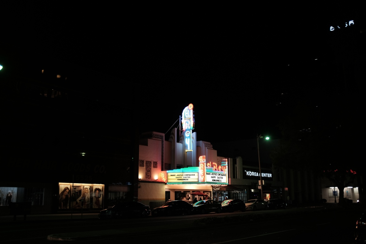 El Rey Cinema in Los Angeles