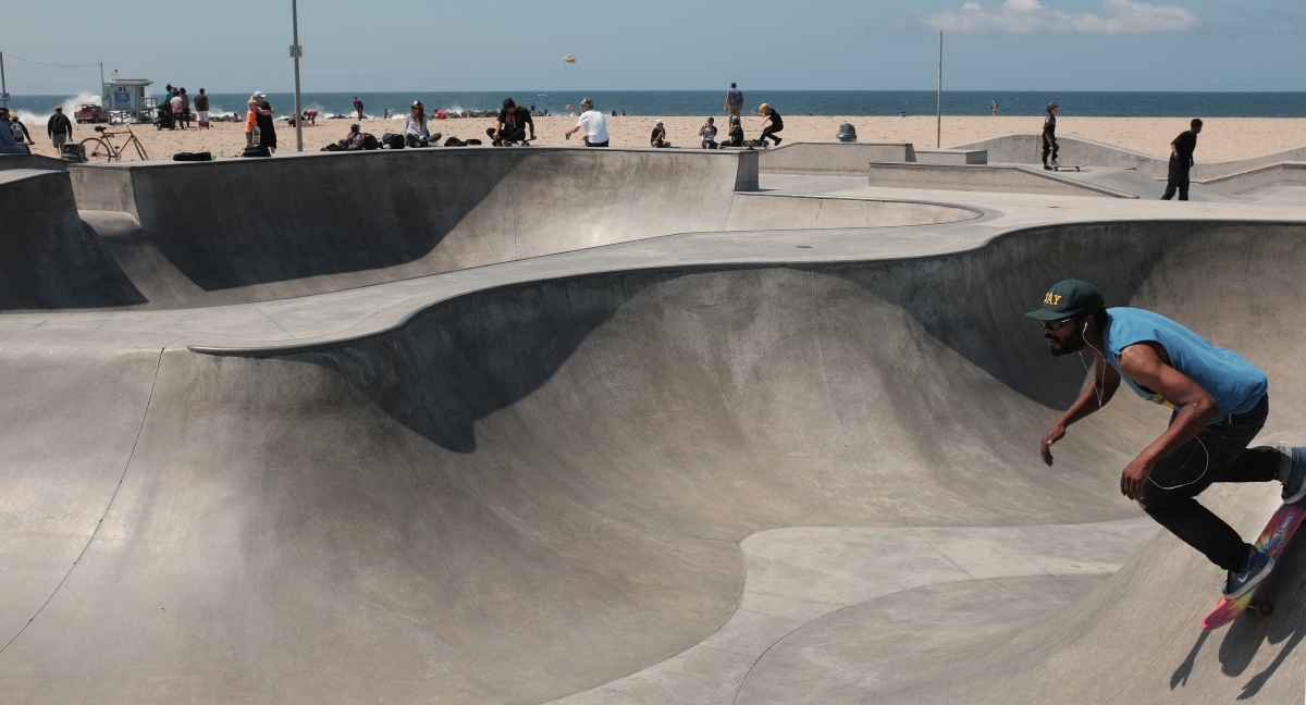 Venice Beach #2 — Skate Park — on Visuelles Logbuch