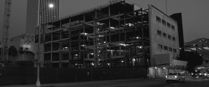 L.A. Construction Site At Night — Visuelles Logbuch