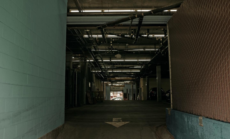 No Exit – Parking Garage in San Francisco, CA.