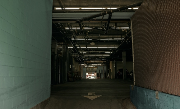 No Exit – Parking Garage in San Francisco, CA.