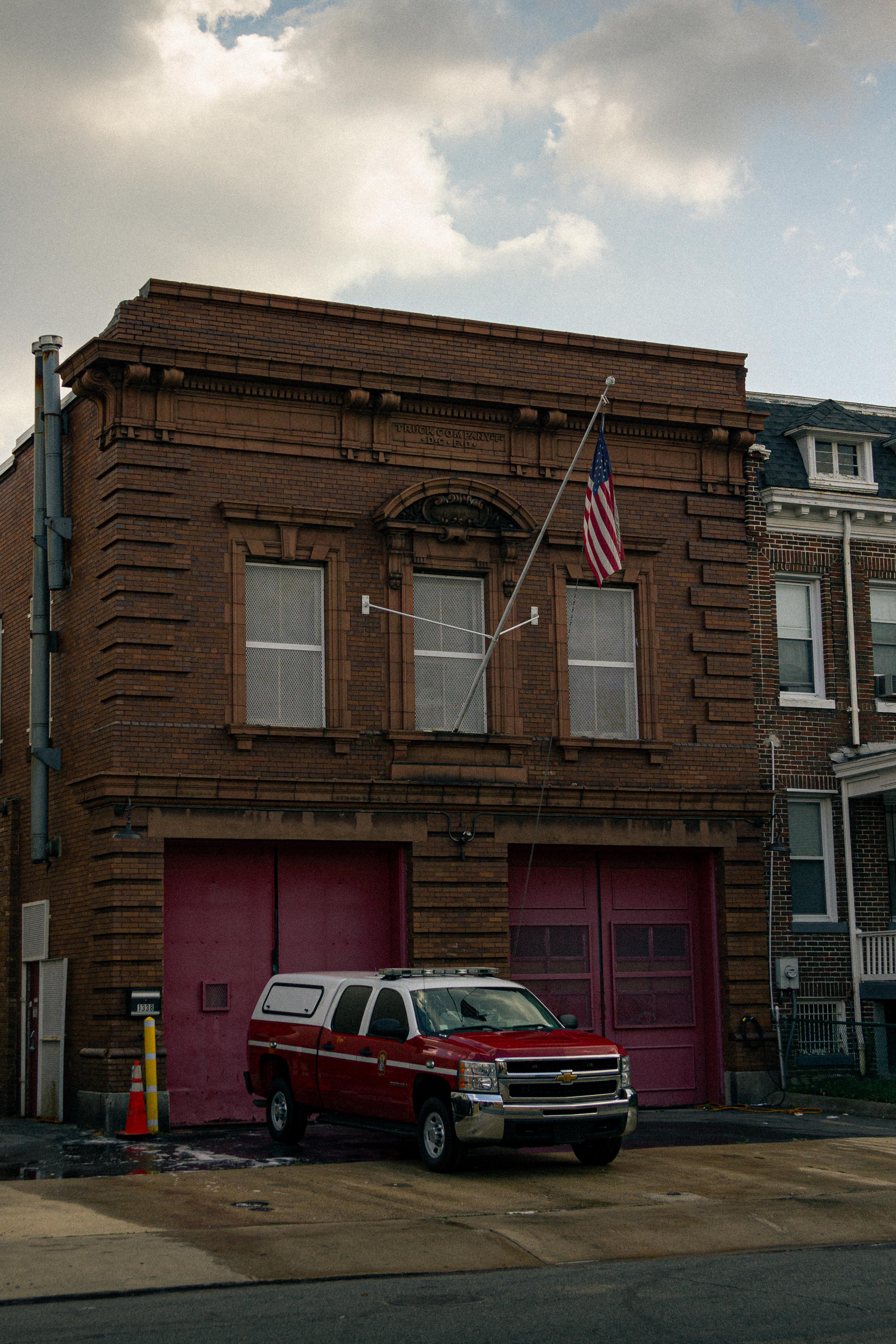 Fire Company F. in Washington D.C.