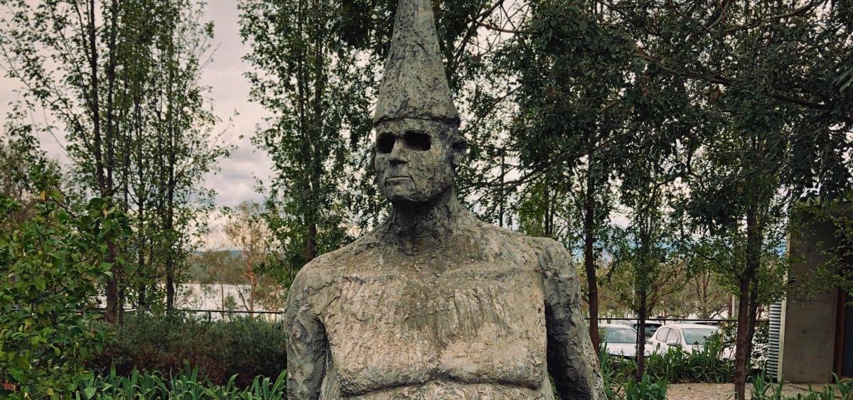 Statue in Canberra